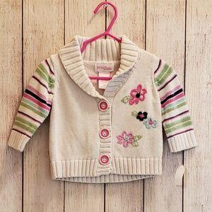 Oshkosh Button up sweater 3m